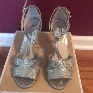 Michael Kors Silver Shoe
